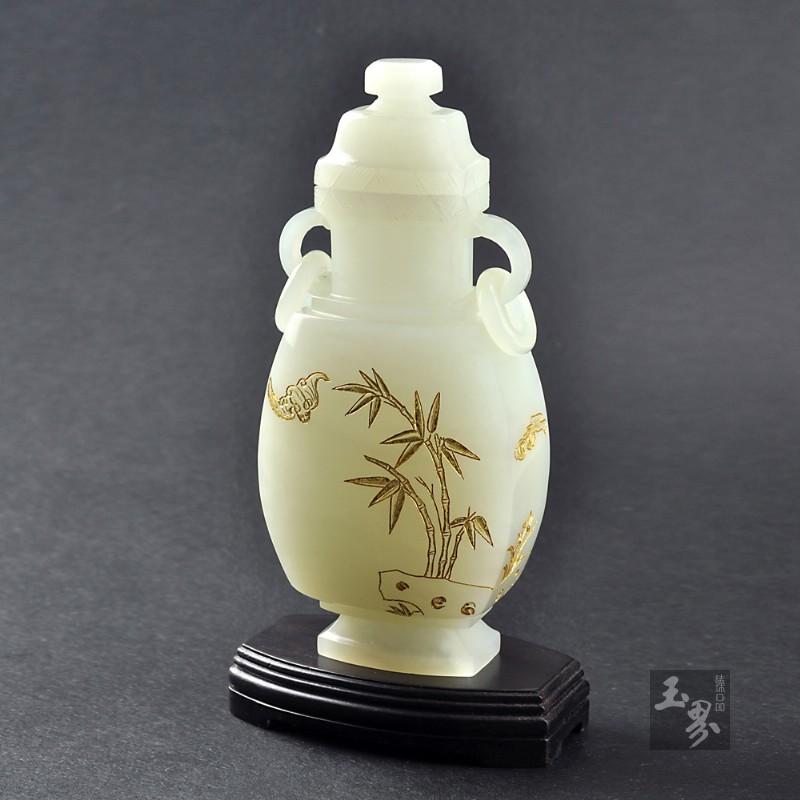 白玉-祝福平安瓶