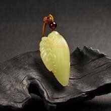 黄玉挂件-小玉米